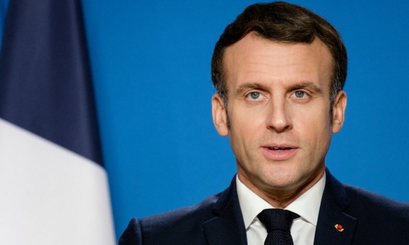 Macron Welcomes U.S. Back to Paris Climate Agreement