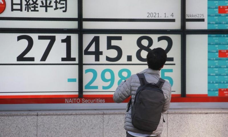 Asian Stocks Rise After Wall Street Hits New High