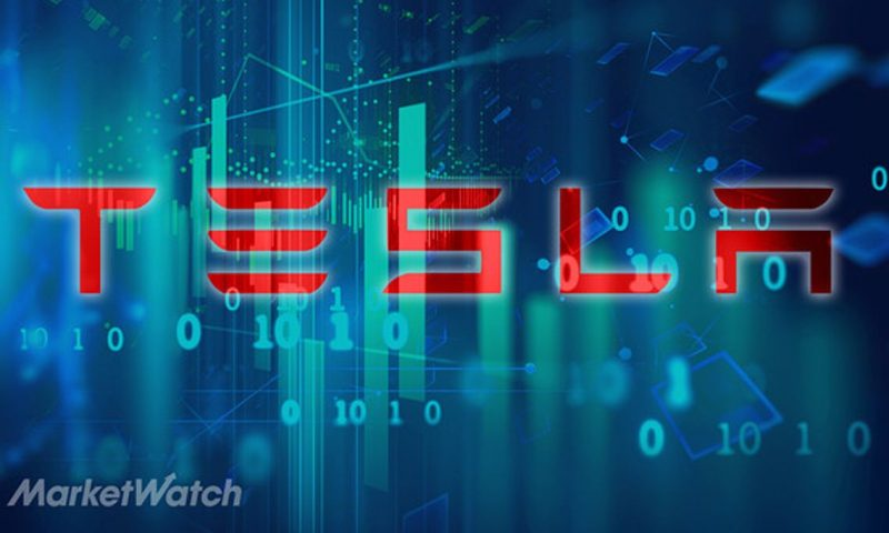 Tesla Inc. stock rises Monday, outperforms market