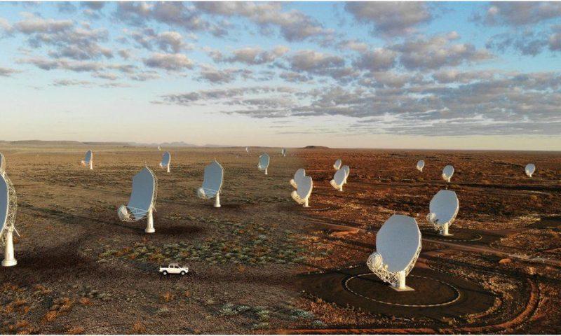 Square Kilometre Array: 'Lift-off' for world's biggest telescope