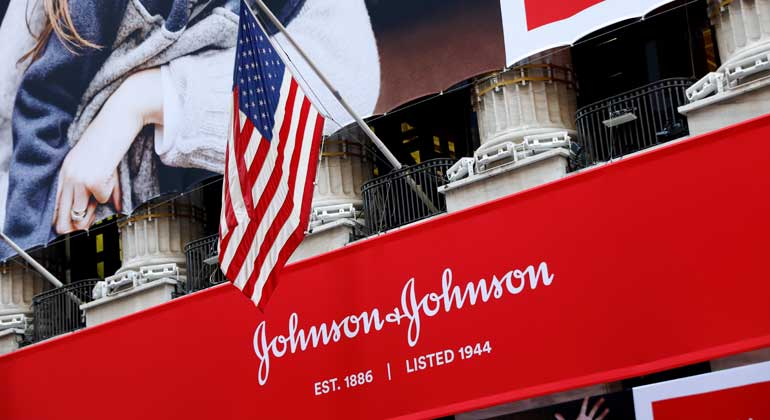 Nike, Johnson & Johnson share gains contribute to Dow's nearly 150-point jump