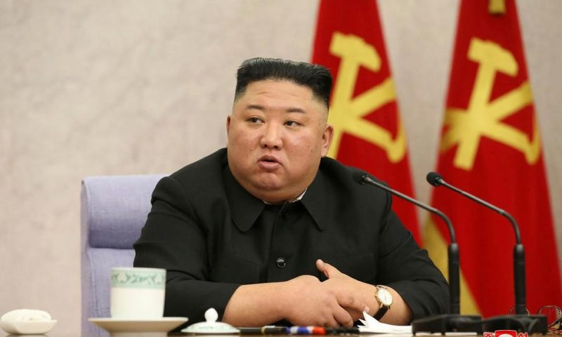 N Korea's Kim Orders Legal Supervision Over Economic Plan