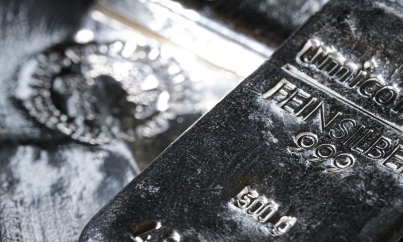 Silver futures spike, fueled by online trading