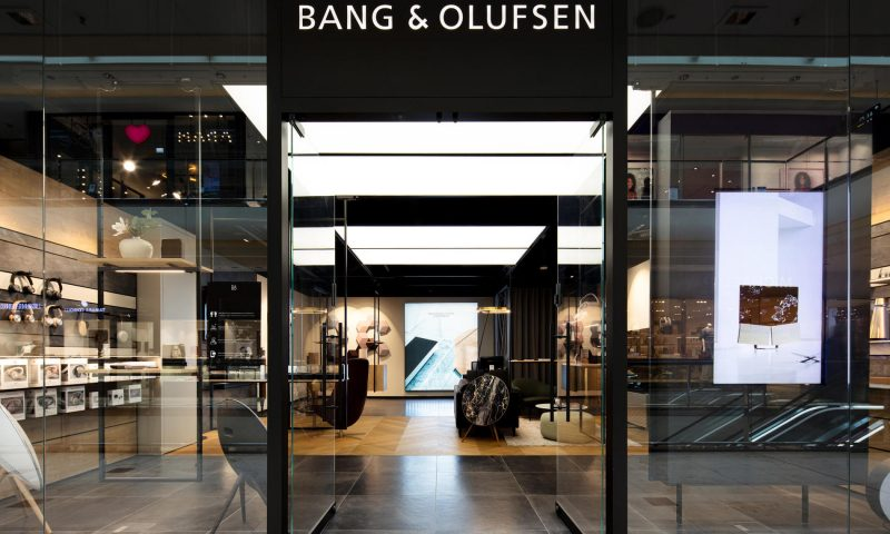 Bang & Olufsen backs view after swinging to profit