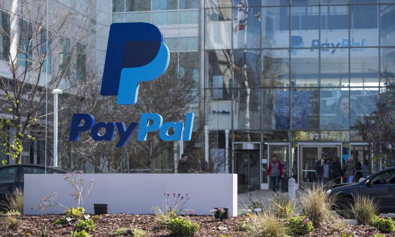 PayPal Holdings Inc. stock outperforms competitors on strong trading day