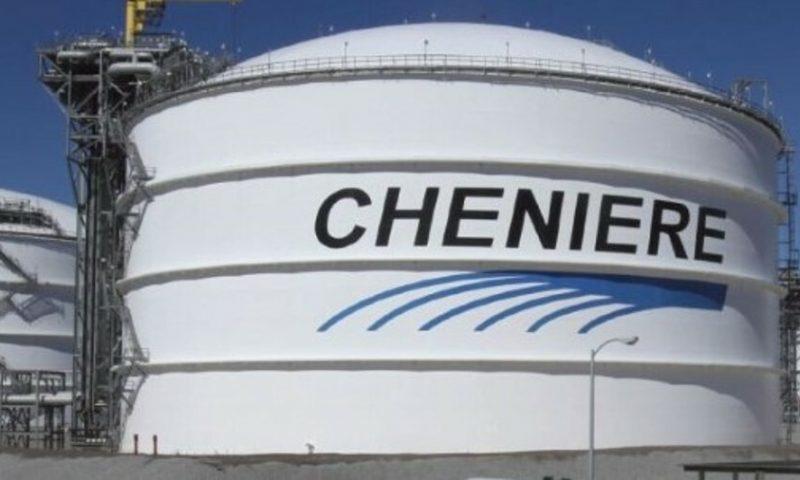 Cheniere Energy (LNG) falls 1.12%