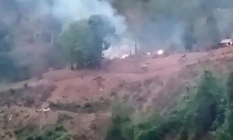 Myanmar Airstrikes Target Ethnic Forces on 2 Fronts