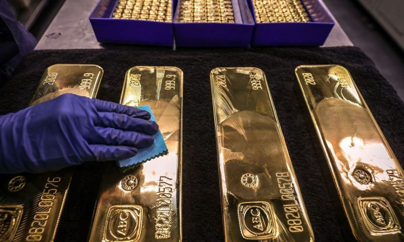 Gold settles higher as traders await Fed meeting