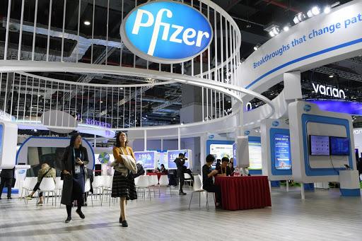 Pfizer Inc. stock falls Wednesday, underperforms market