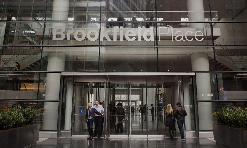 Brookfield Property Partners L (BPY) falls 0.39%