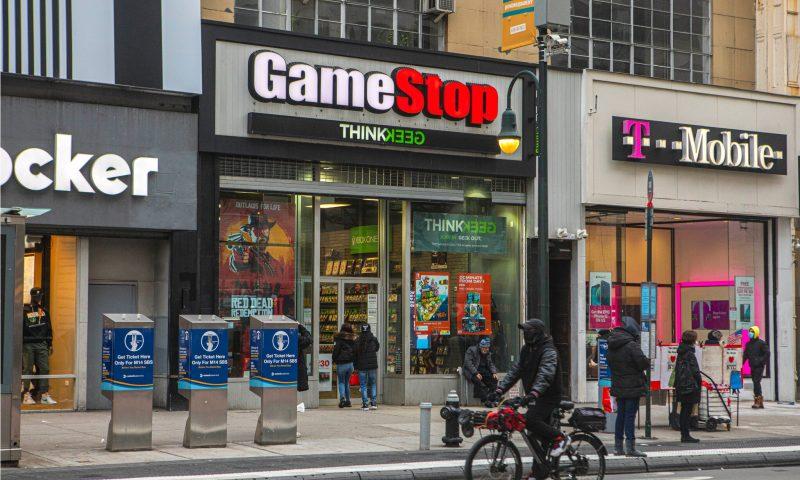 GameStop stock rises after eliminating its long-term debt