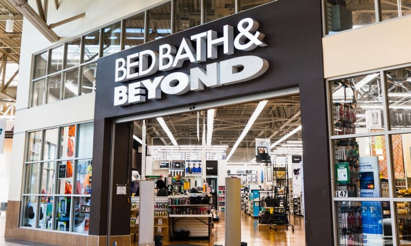 Bed Bath & Beyond after partnership with DoorDash for same-day delivery