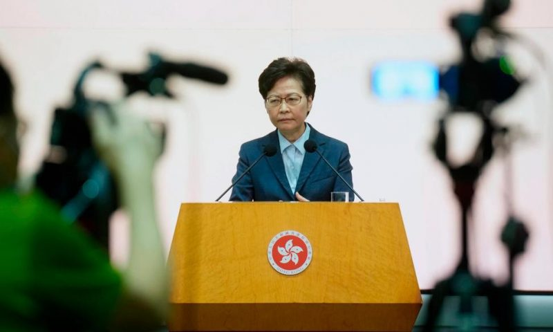 'Life Goes On:' Lam Says Hong Kong Still Good for Businesses