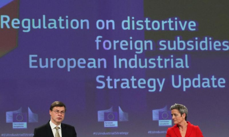 EU Plans Tightening Foreign Investment, With Eye on China