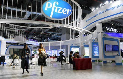Pfizer Inc (PFE) falls 1.95%