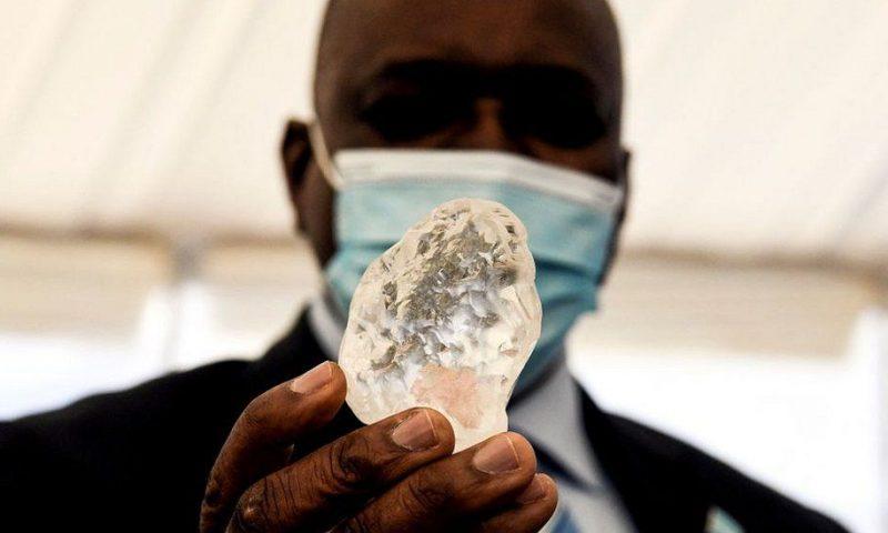Botswana diamond could be world's third largest