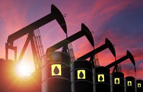 Oil futures rise, with U.S. crude settling just above $73 a barrel