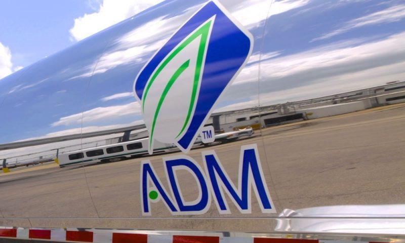 Archer Daniels Midland (ADM) falls 0.15%