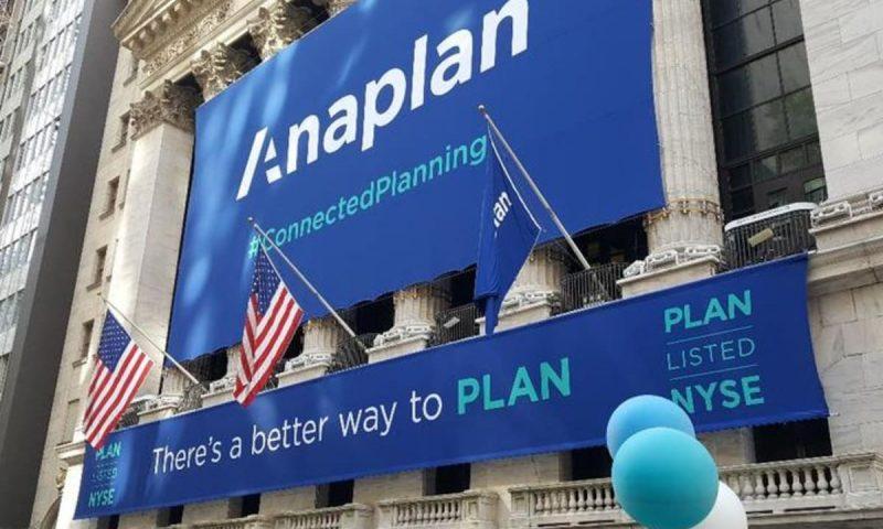 Anaplan Inc (PLAN) gains 0.5890%