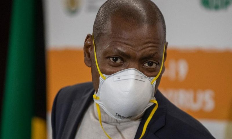 South Africa's Health Minister Put on Leave Over Contract