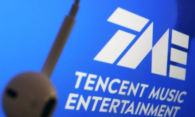 Tencent Music (TME) gains 1.14%