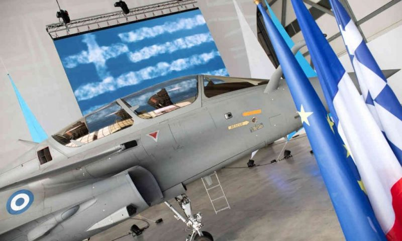 Greece Takes Delivery of 1st of 18 French Rafale Warplanes