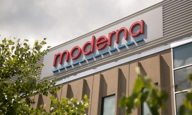 Moderna's stock hits record price on Tuesday