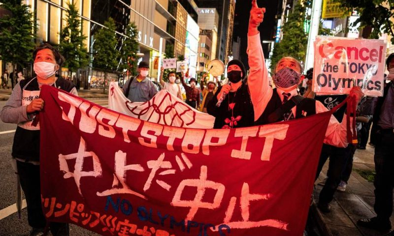 Games Must Go On in Tokyo Amid Public Disapproval