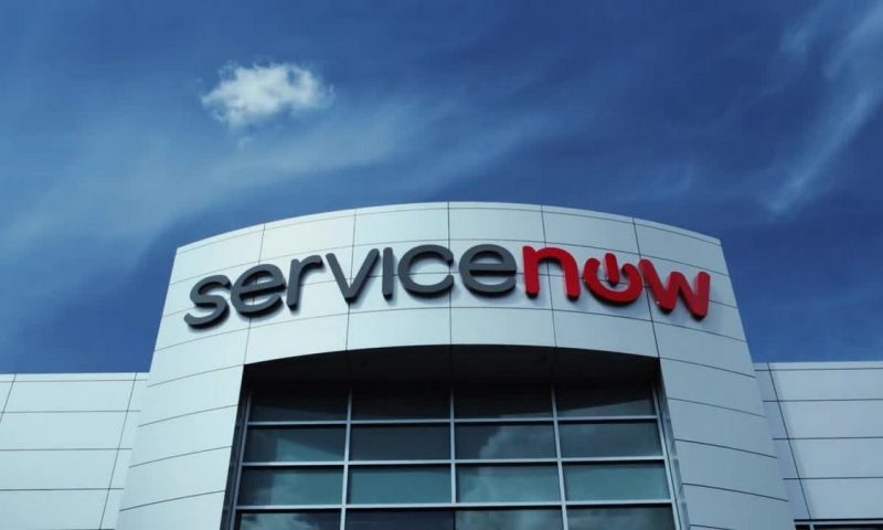 ServiceNow Inc. stock rises Wednesday, still underperforms market