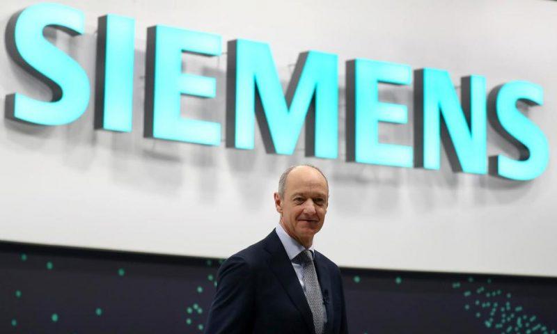 Rebounding Global Economy Helps Fill Order Book at Siemens