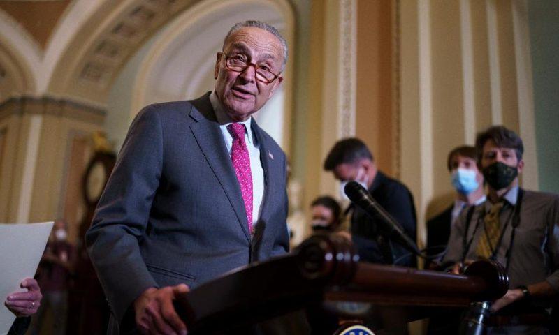 Senate Dems Unveil $3.5T Budget for Social, Climate Efforts