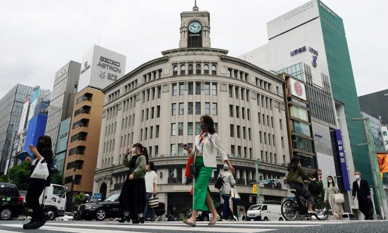 Japan Ekes Out Economic Growth in Recovery From Pandemic