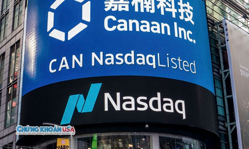 Canaan (CAN) gains 1.71%