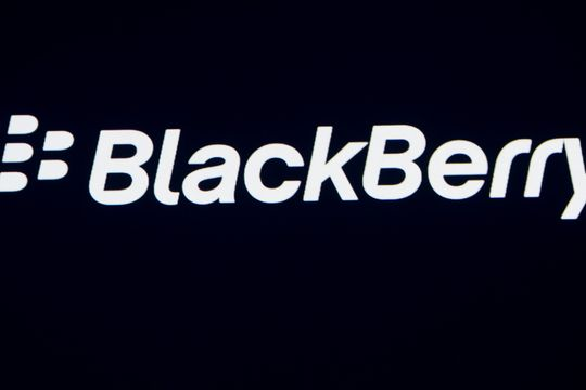 Blackberry stock rallies after topping Wall Street estimates
