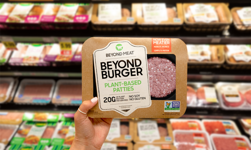 Beyond Meat Inc. stock outperforms market on strong trading day